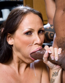Busty MILF Has a Xmass Ride in the Kitchen-11