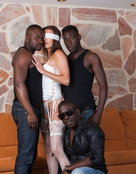 Swiss Politician's Wife Caroline Tosca's Gets a Gangbang-1