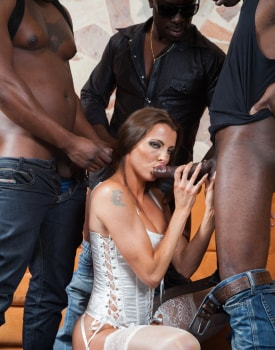Swiss Politician's Wife Caroline Tosca's Gets a Gangbang-3
