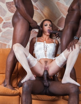Swiss Politician's Wife Caroline Tosca's Gets a Gangbang-4