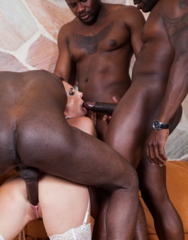 Swiss Politician's Wife Caroline Tosca's Gets a Gangbang-5