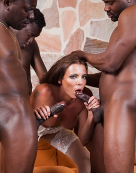 Swiss Politician's Wife Caroline Tosca's Gets a Gangbang-10