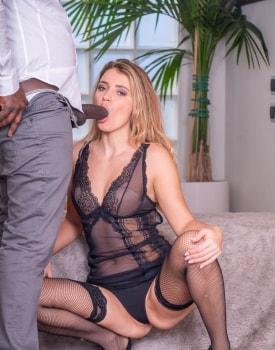 Gorgeous Teen Takes on a Big Black Cock-3