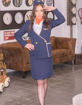 Anastasia Brokelyn, A Very Horny Flight Attendant-0