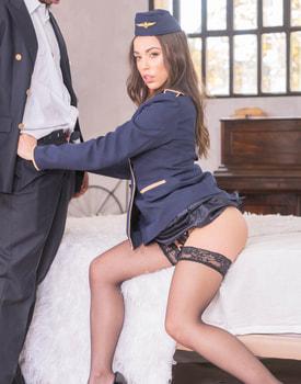 Anastasia Brokelyn, A Very Horny Flight Attendant-3