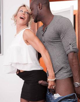 MILF Marina Beaulieu Tastes her First Big Black Cock-4