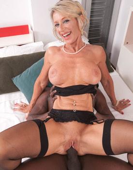 MILF Marina Beaulieu Tastes her First Big Black Cock-8