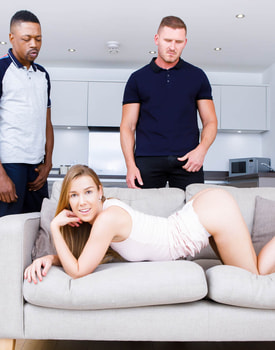 Naughty Alexis Crystal Gets a DP-3