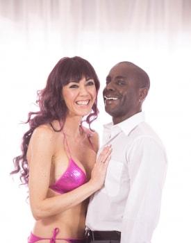 Saucy Brunette Tries Interracial-2