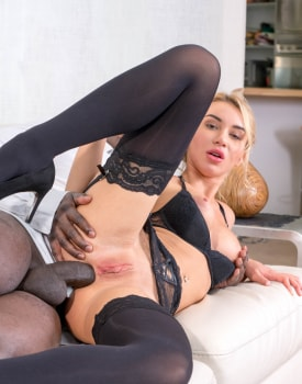 Cute Blonde Needs a Big Black Cock for Anal Sex-8