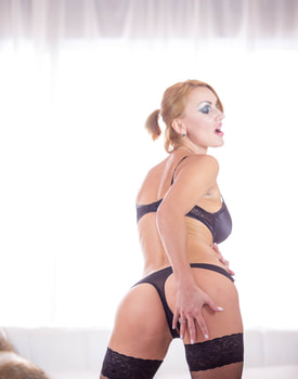 Elen Million, MILF and Busty Enjoys in her First Interracial-2