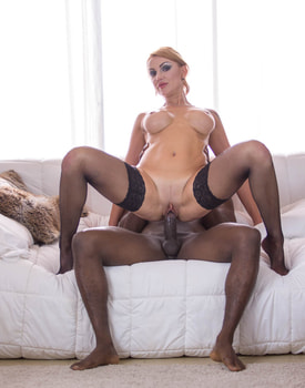 Elen Million, MILF and Busty Enjoys in her First Interracial-7