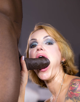 Elen Million, MILF and Busty Enjoys in her First Interracial-11