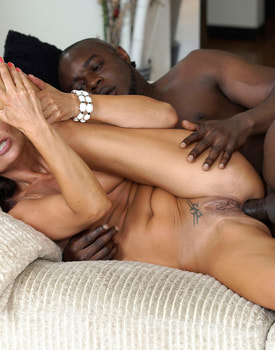 MILF Soraya Rico Enjoys with Anal in her First Interracial-8